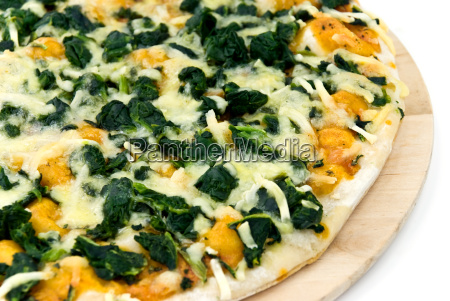 pizza, spinach - 1597491