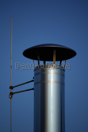 stainless, steel, chimney - 1598819