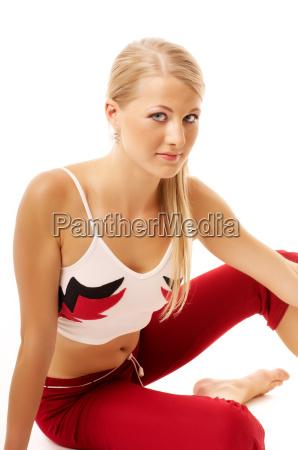 young sportswomen