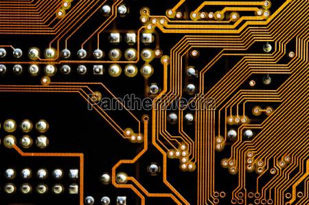 printed circuit motherboard