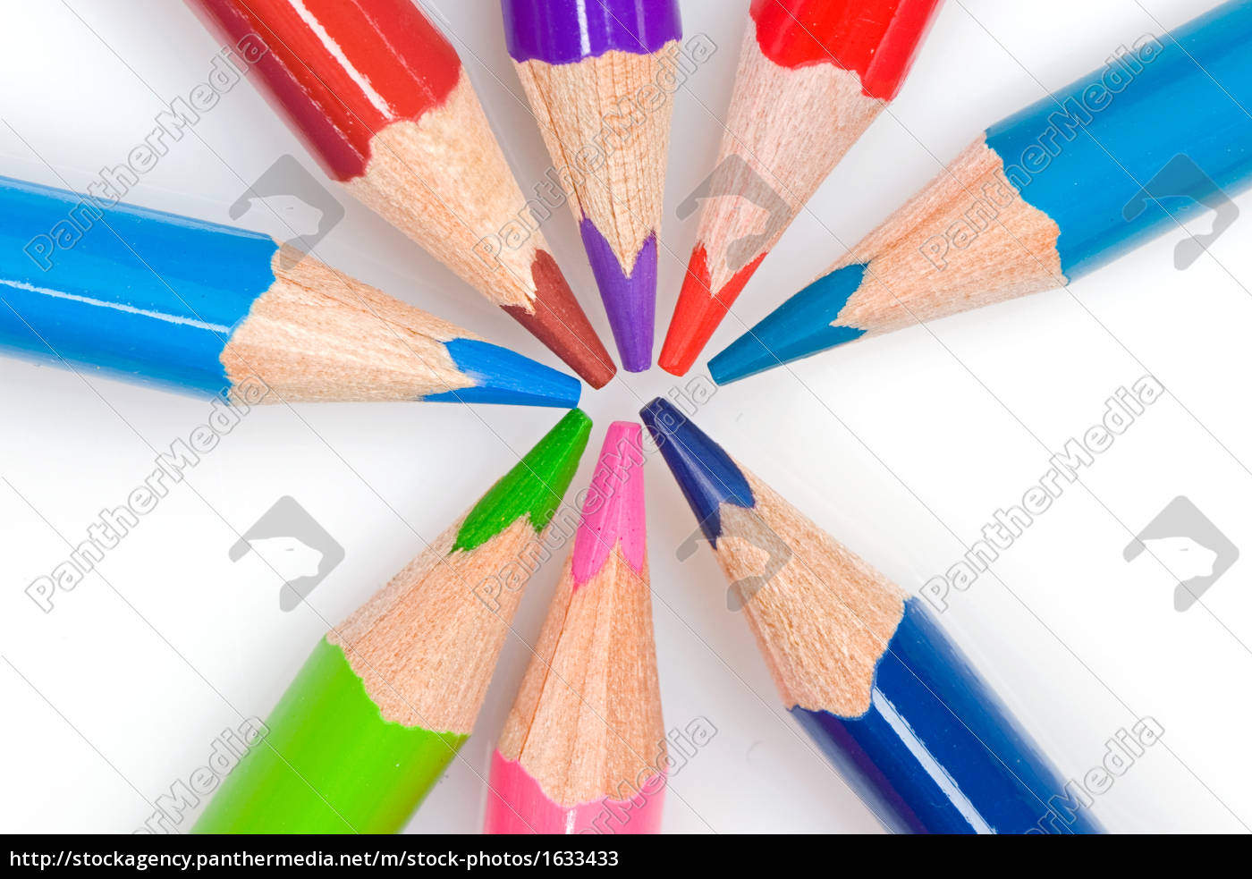 many, pencils, of, different, colors - 1633433