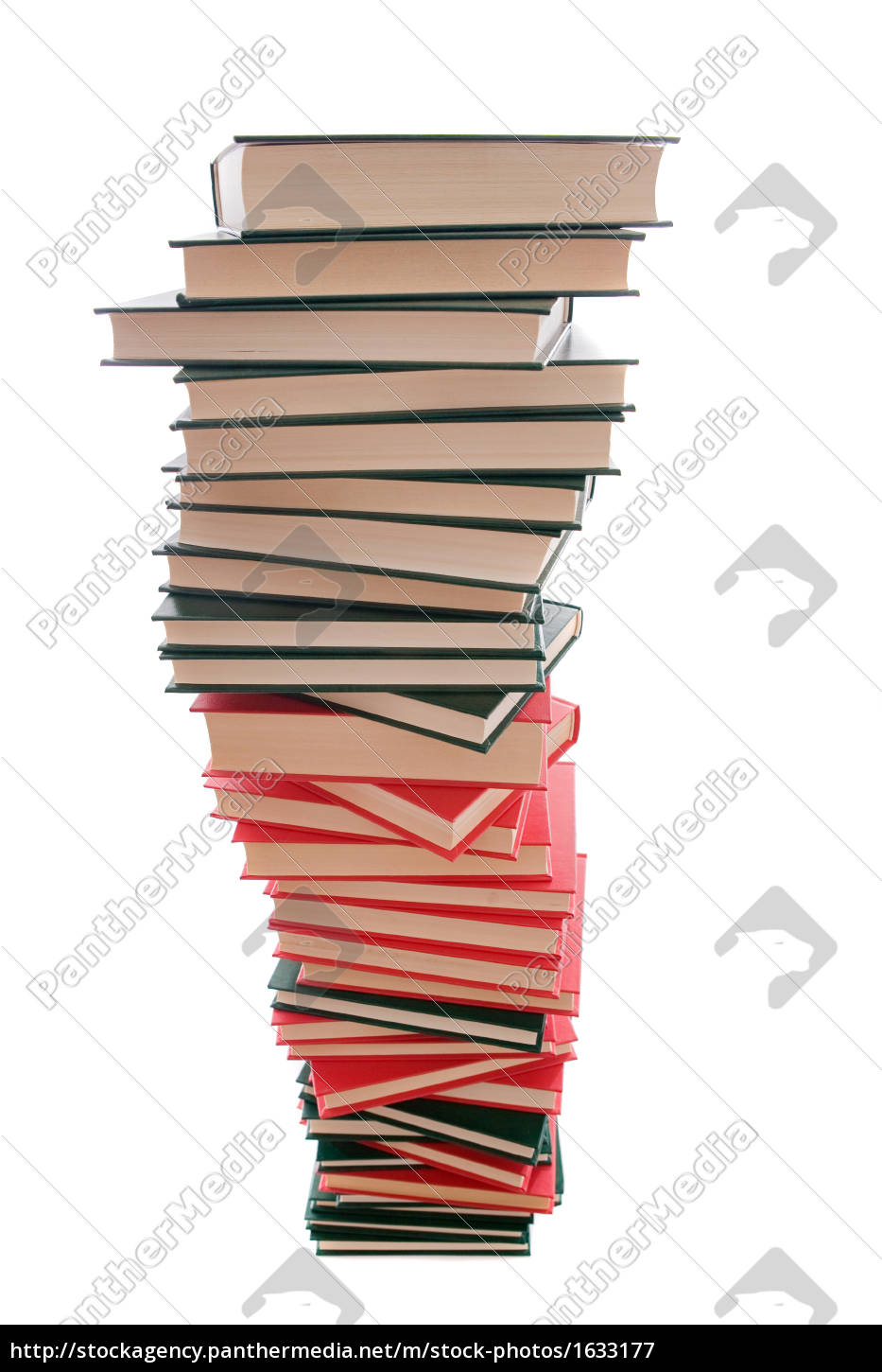 tower, of, books, on, a, white - 1633177