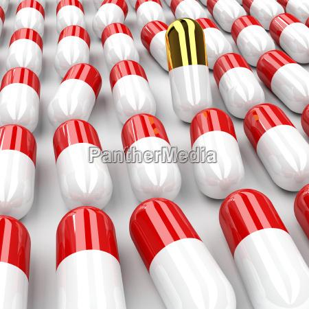pills, 3d, background - 1639307