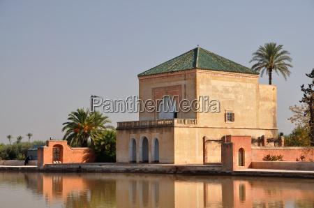 pavilion, in, menara, garden, marrakech - 1652067
