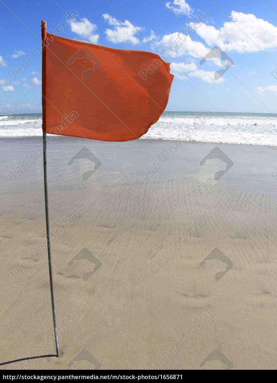 flag, on, the, beach - 1656871