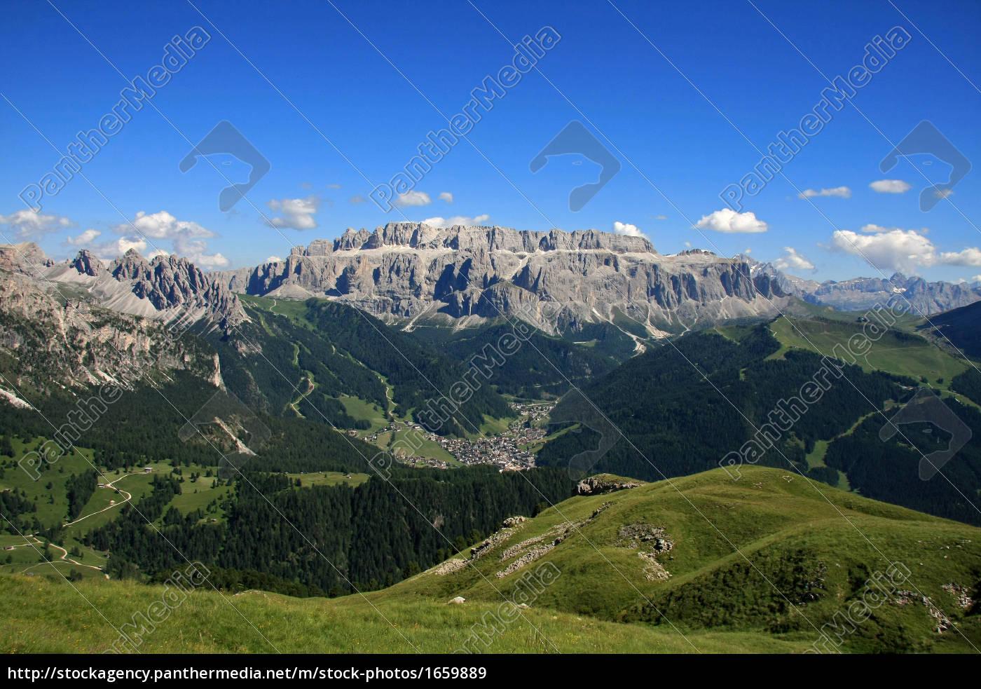 dolomites, panorama - 1659889