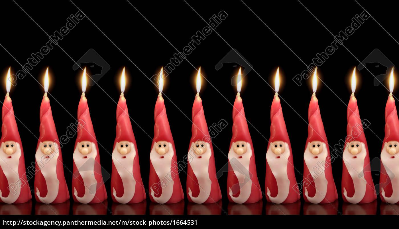 santa, clause, candles - 1664531
