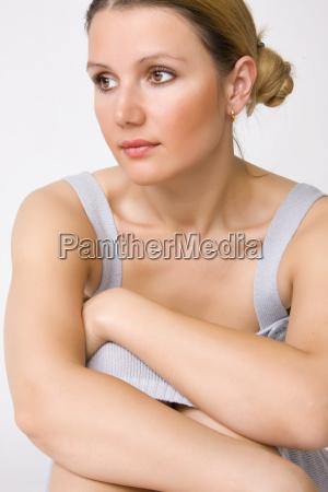 young, beautiful, woman - 1670123