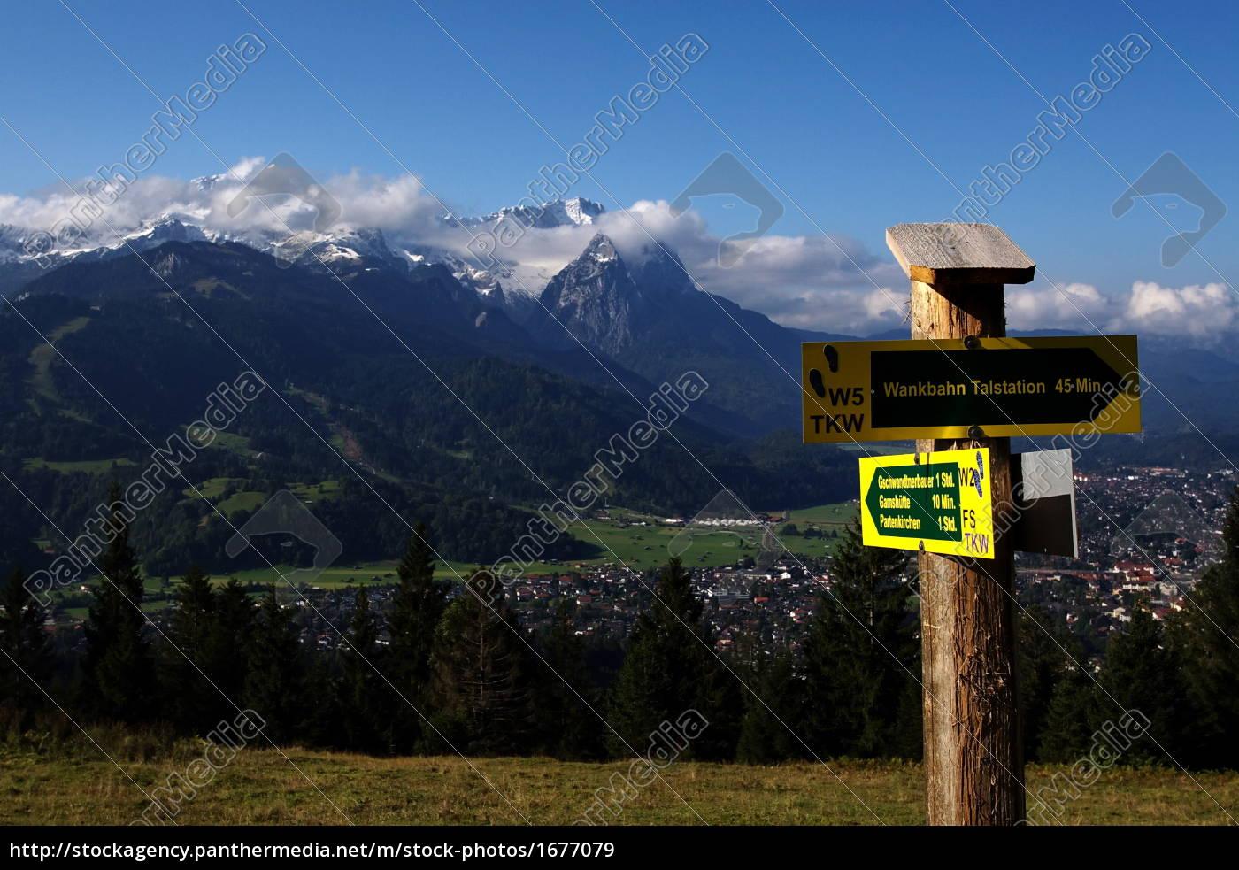garmisch, and, wettersteingebirge - 1677079