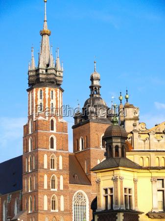 st., mary's, church, in, krakow - 1685963
