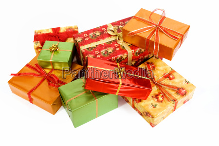 christmas, gifts, with, clipping, path - 1692933