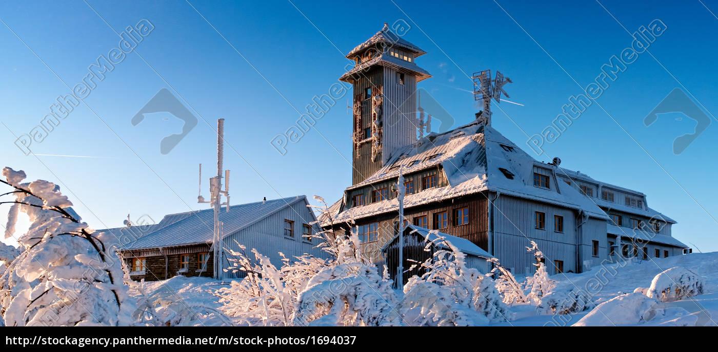fichtelberghaus, winter - 1694037