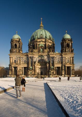 berliner dom winter
