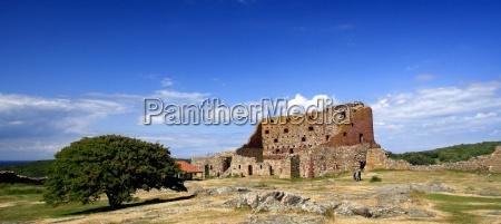 fortress hammershus