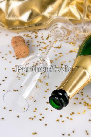 after, celebrating, -, empty, bottle - 1714129