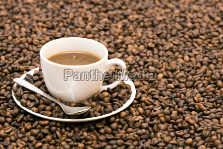 coffe beans in cup