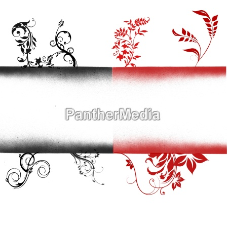 black red background with copyspace