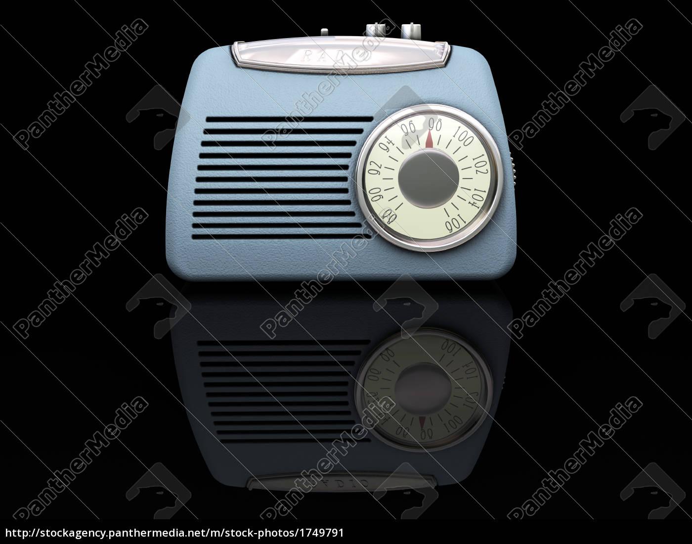 retro, radio - 1749791