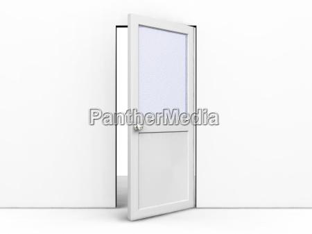 open, door - 1750637