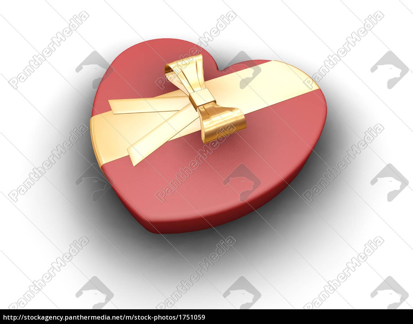 heart, shaped, box - 1751059