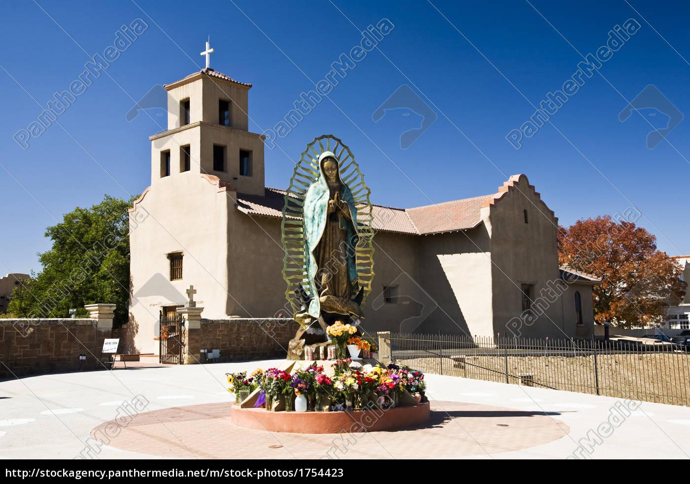 adobe, style, santa, fe, new, mexico - 1754423