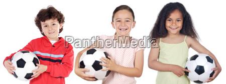 children, with, soccer, ball - 1758111