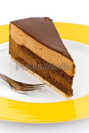 chocolate, cream, nougat, gourmet, cake - 1760045