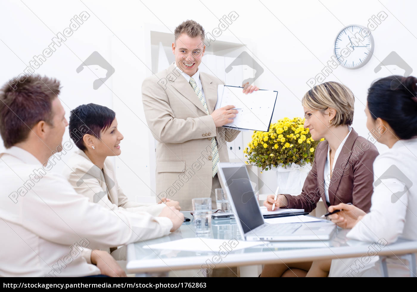 staff, meeting, at, office - 1762863