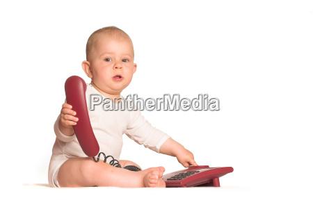 baby, phone, home - 1763519