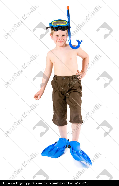 diver, kid - 1763315