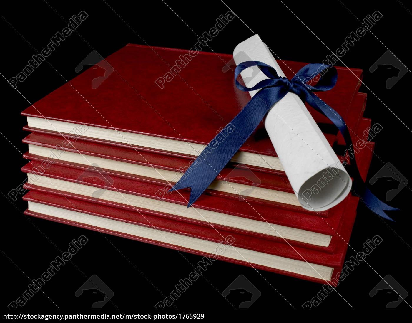 diploma, over, books - 1765929