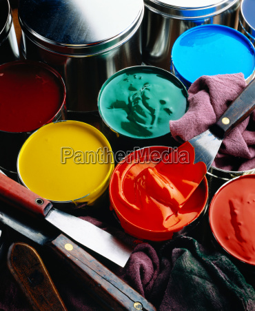 colorful printers inks