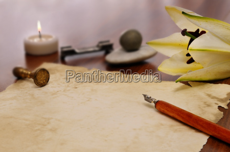 parchment and quill