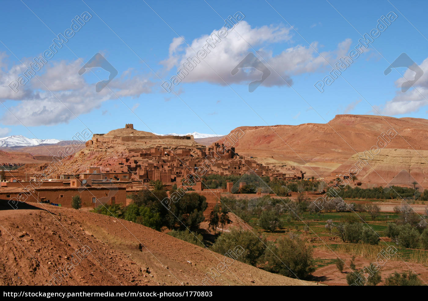 ait, benhaddou, morocco - 1770803