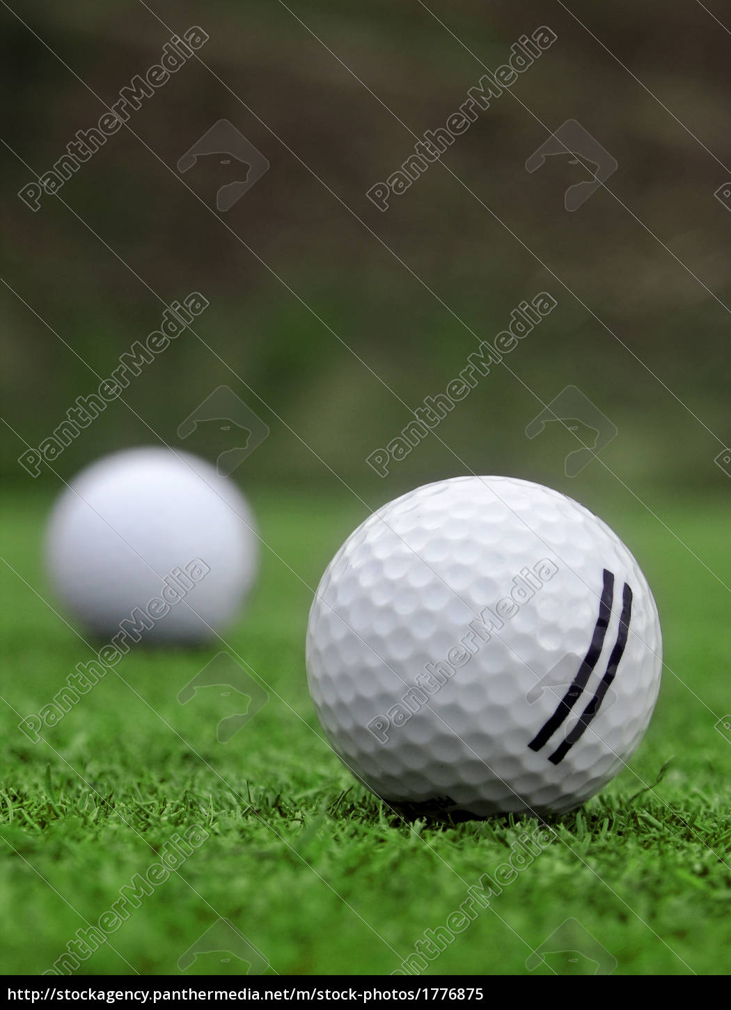 golf, -, detail, ball, with, hole - 1776875