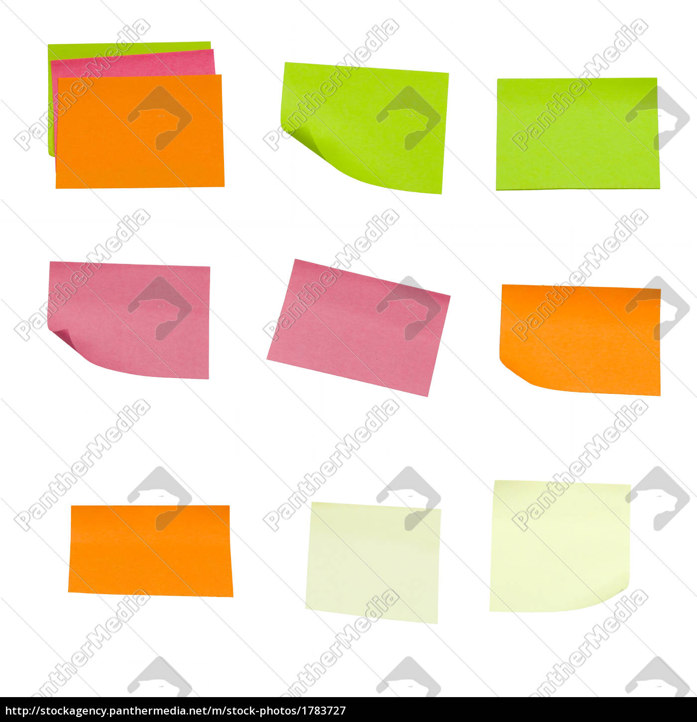 colored, sticky, notes - 1783727