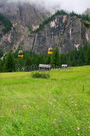 lift to lush meadows