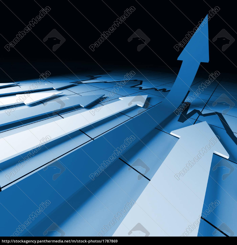 arrow, financial, stat - 1787869