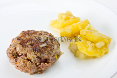 hamburguesa carne picada picado carne fleischpflanzerl