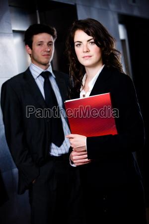 businesspeople corporate portrait