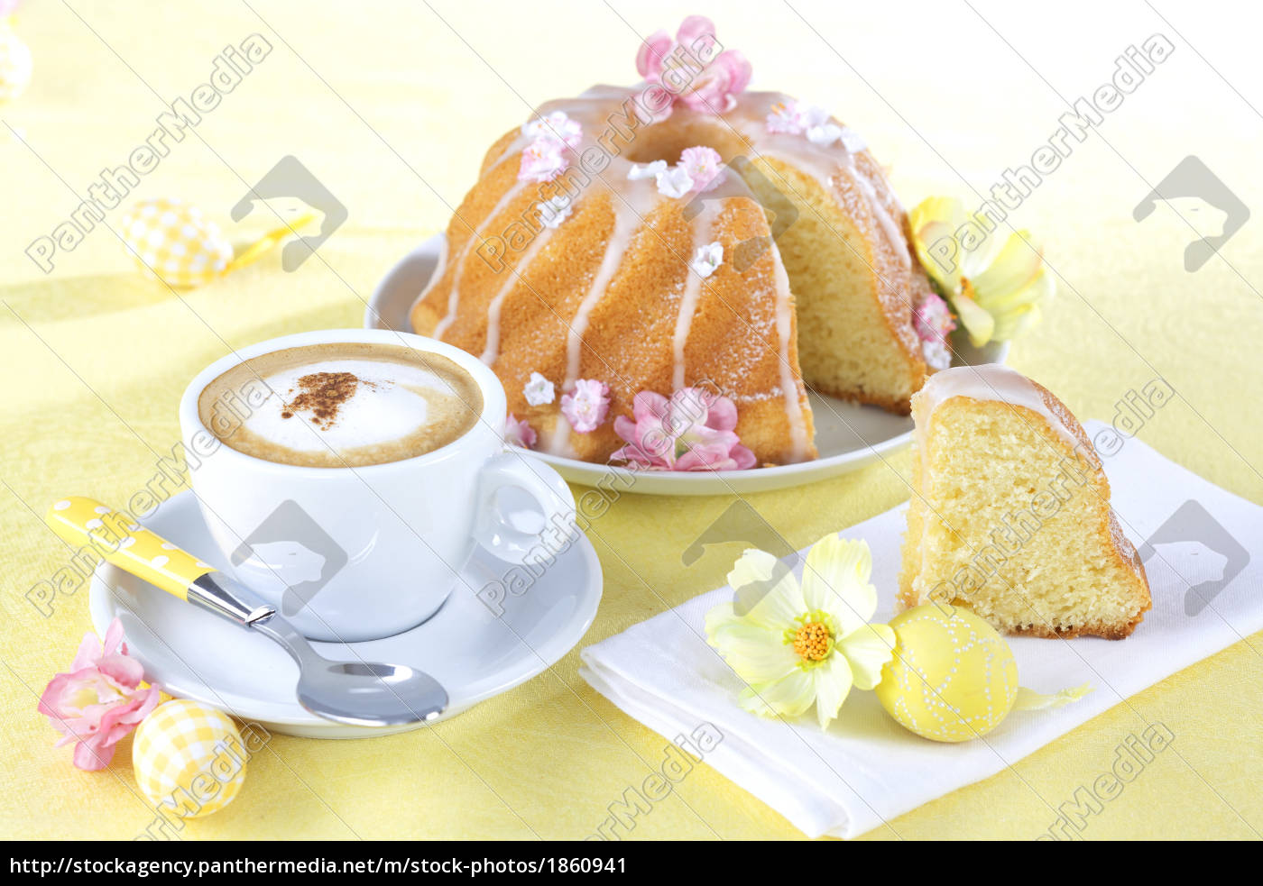 ostergugelhupf, with, coffee - 1860941