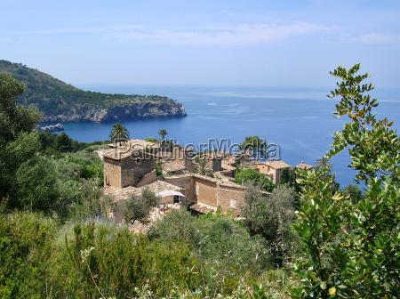 village on mallorcas west coast