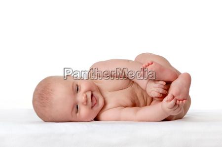 baby lezacego na boku 1