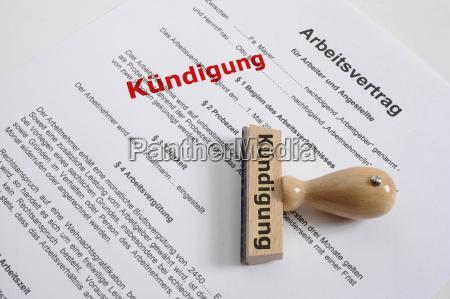 termination terminate employment