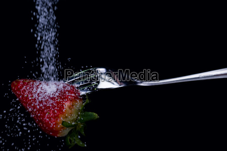 vitamins vitamines sugar fork strawberry to