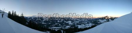 morning panorama westendorf