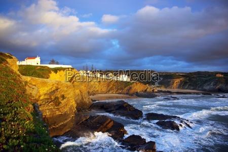 sunset in atlantic ocean portuguese c