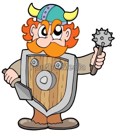 angry viking warrior