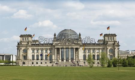 reichstag seat of the bundestag berlin
