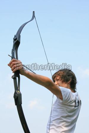 arc arcs aim unerring arrow schiessen